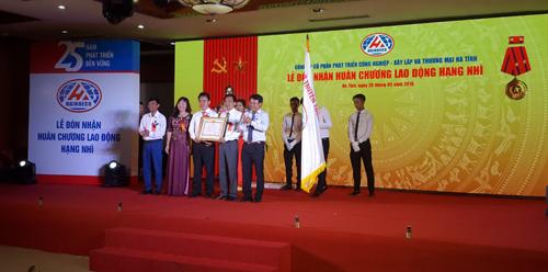 Lễ Đón nhận Huân chương Lao động hạng nhì Công ty Haindeco Hà Tĩnh