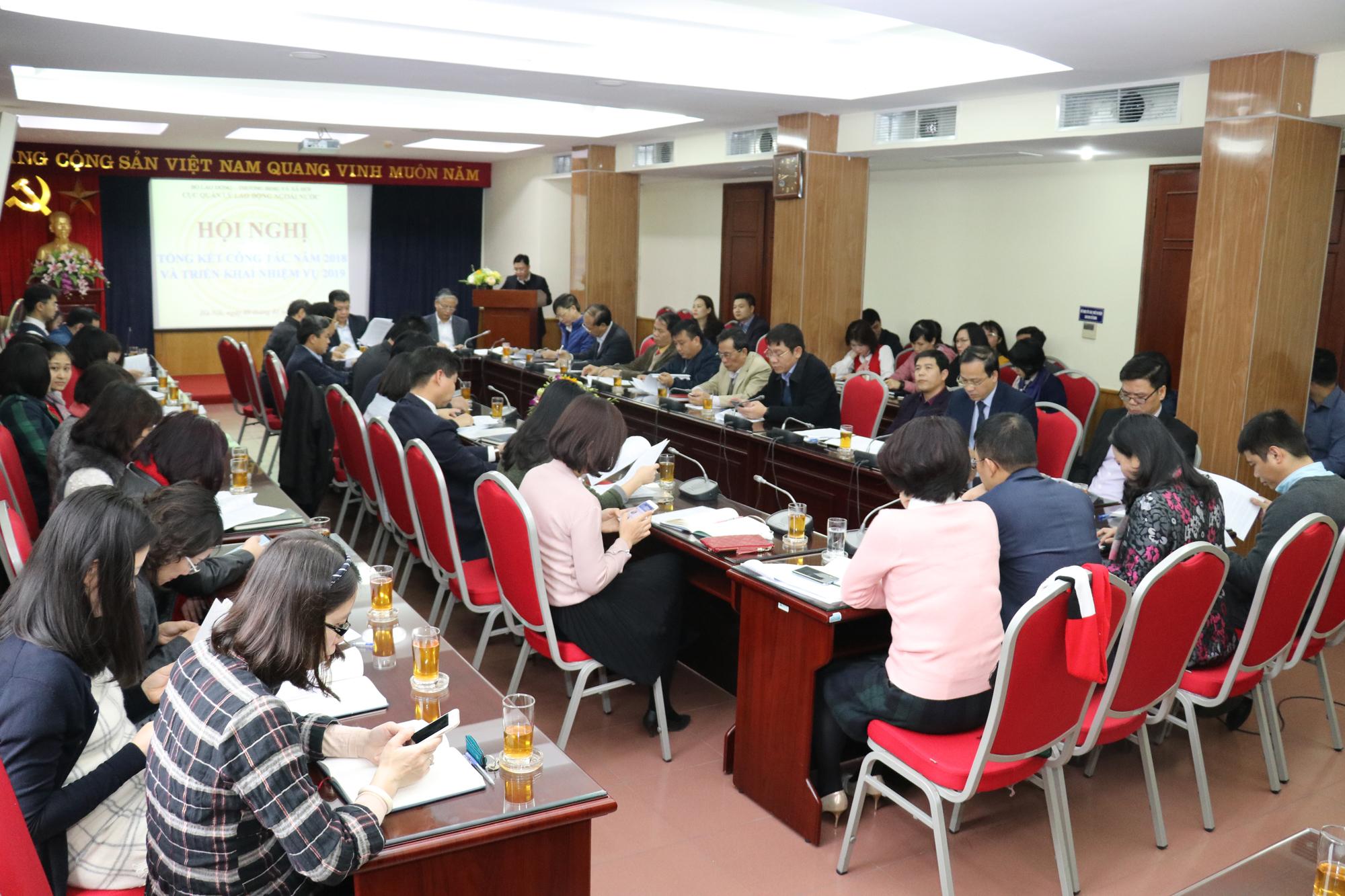 Cục Quản lý Lao động ngoài nước tổng kết công tác 2018 và triển khai nhiệm vụ năm 2019